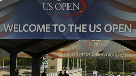 US Open: лучшие кадры первого игрового дня
