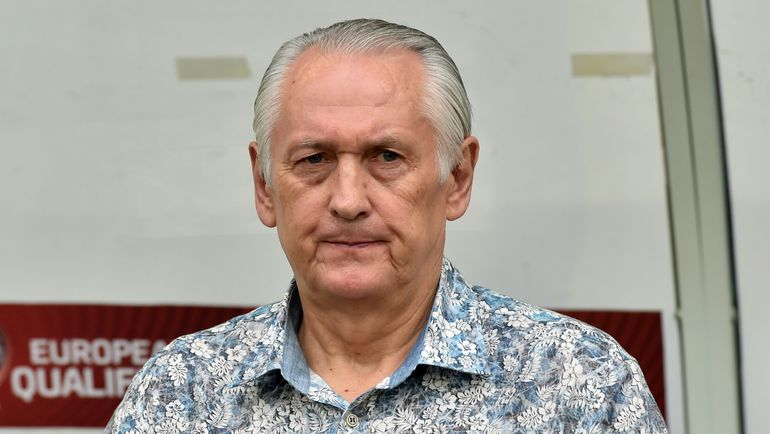 Главный тренер сборной Украины Михаил ФОМЕНКО. Фото AFP