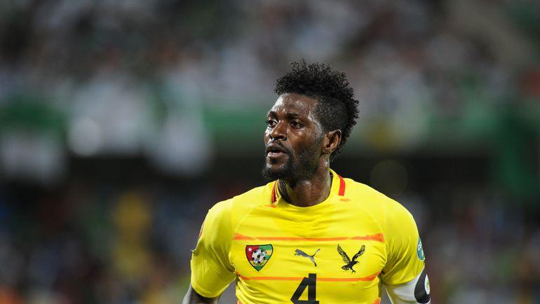 Во время обстрела автобуса сборной Того в январе 2010 года на руках Эмманюэля АДЕБАЙОРА умер человек. Фото AFP