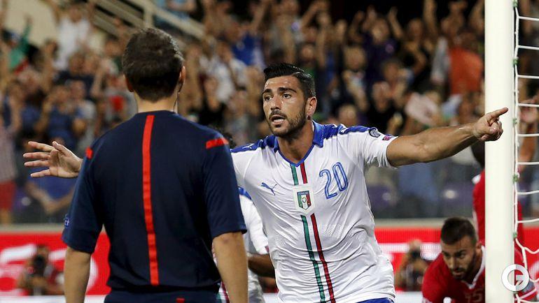 Италия - Мальта - 1:0.