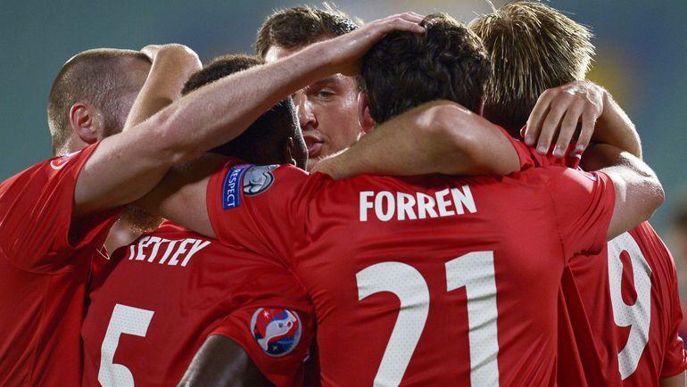 Сборная Норвегии благодаря победе над Болгарией сохранила себе шансы в борьбе за прямую путевку на Евро-2016. Фото AFP