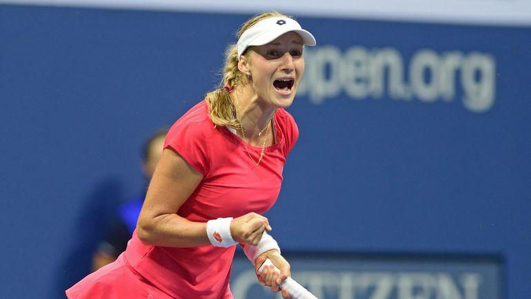 Вчера. Нью-Йорк. Екатерина МАКАРОВА была последней представительницей России во взрослых одиночных турнирах US Open. Фото AFP