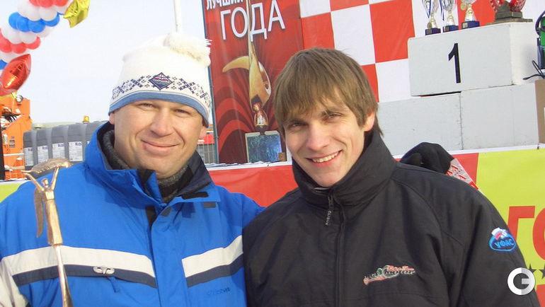 """2005 год. Виталий ПЕТРОВ - лучший гонщик года по версии журнала """"За Рулем""""."""