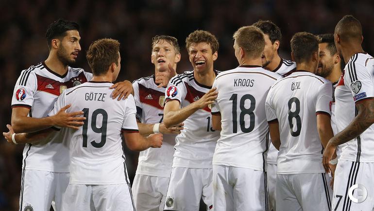 Шотландия – Германия – 2:3.