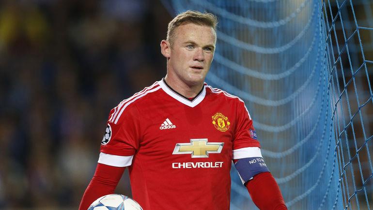 "Нападающий ""Манчестер Юнайтед"" Уэйн РУНИ. Фото Reuters"