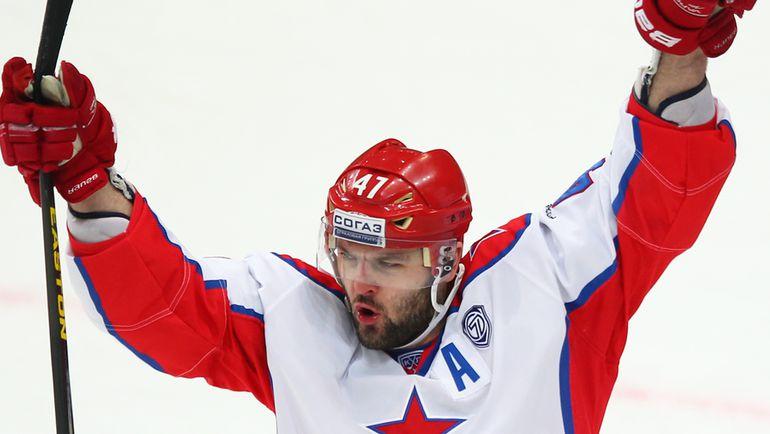 Сегодня Александр РАДУЛОВ вновь встретится с командой, с которой добился наивысшего клубного результата. Фото photo.khl.ru