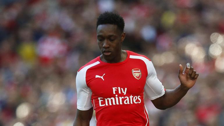 "Нападающий ""Арсенала"" Дэнни УЭЛБЕК. Фото Reuters"