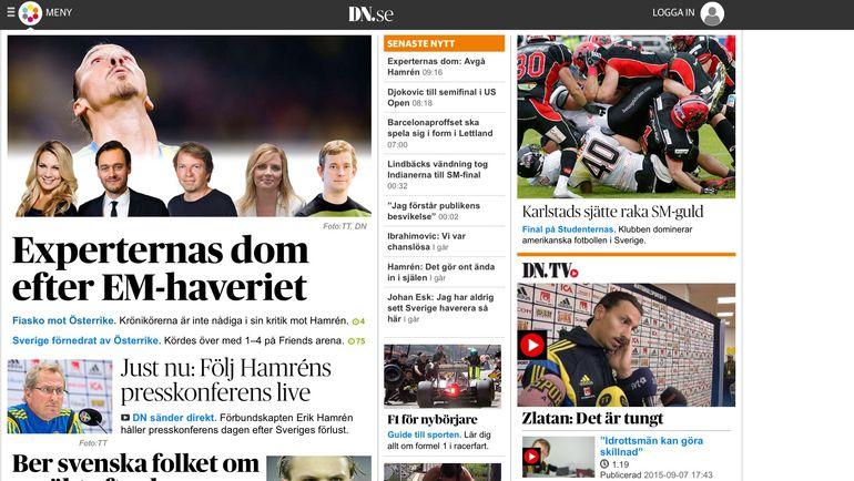 Шведские СМИ негодуют из-за последних результатов команды.