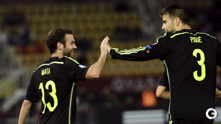 Македония - Испания - 0:1.