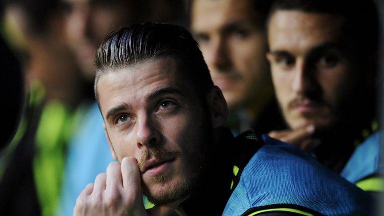 Вратарь сборной Испании Давид ДЕ ХЕА. Фото AFP
