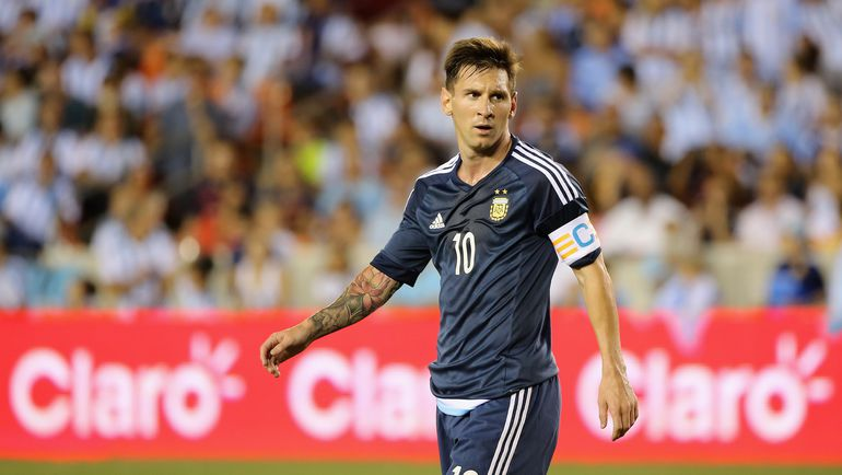 Нападающий сборной Аргентины Лионель МЕССИ. Фото AFP