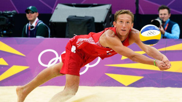 Константин СЕМЕНОВ на Олимпийских играх-2012. Фото AFP