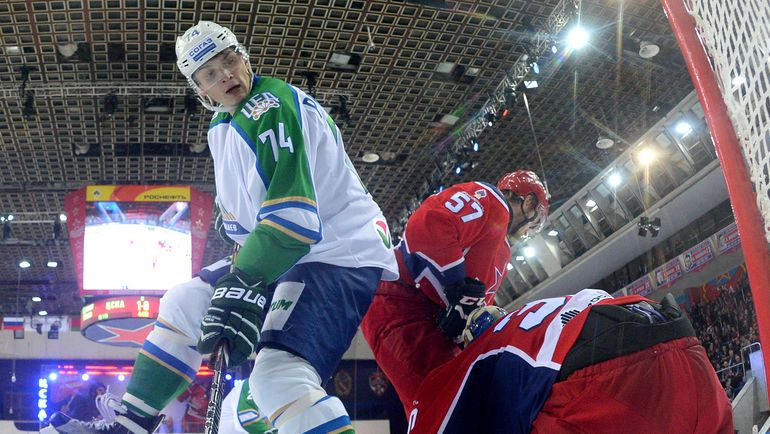 """Поражение от """"Северстали"""" может стать для """"Салавата"""" четвертым подряд. Фото photo.khl.ru"""