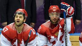 На домашней Олимпиаде в Сочи-2014 две звезды КХЛ Илья КОВАЛЬЧУК и Александр РАДУЛОВ вместе с командой остановились в четвертьфинале.