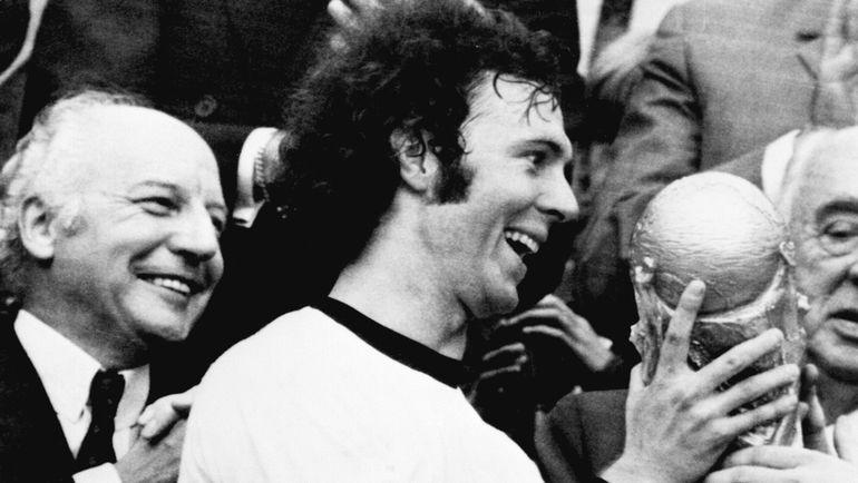 Франц БЕККЕНБАУЭР - чемпион мира-1974. Фото AFP