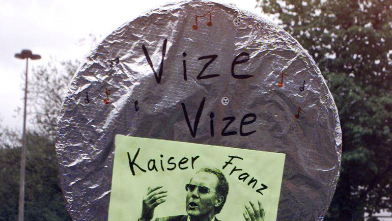 Кайзер - это про Франца Беккенбауэра. Фото REUTERS