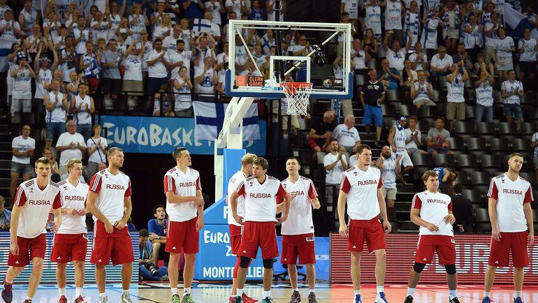 Мужская сборная России лишилась шансов отобраться на Олимпийские игры в Рио-де-Жанейро по спортивному принципу. Фото AFP