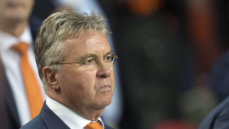 Бывший главный тренер сборной Голландии Гус ХИДДИНК. Фото REUTERS