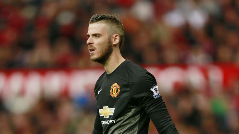 """Вратарь """"Манчестер Юнайтед"""" Давид ДЕ ХЕА. Фото Reuters"""