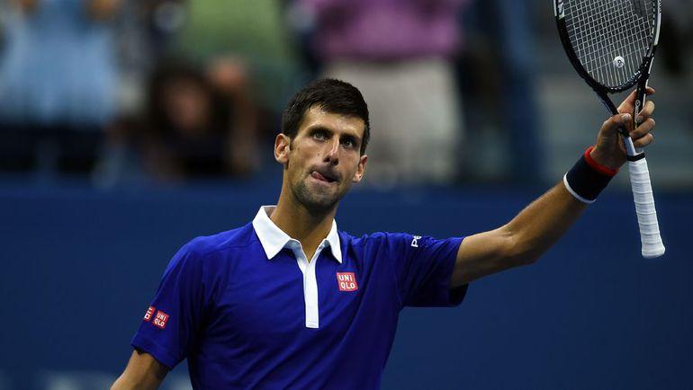 Пятница. Нью-Йорк. Новак ДЖОКОВИЧ в шестой раз в карьере вышел в финал US Open. Фото AFP