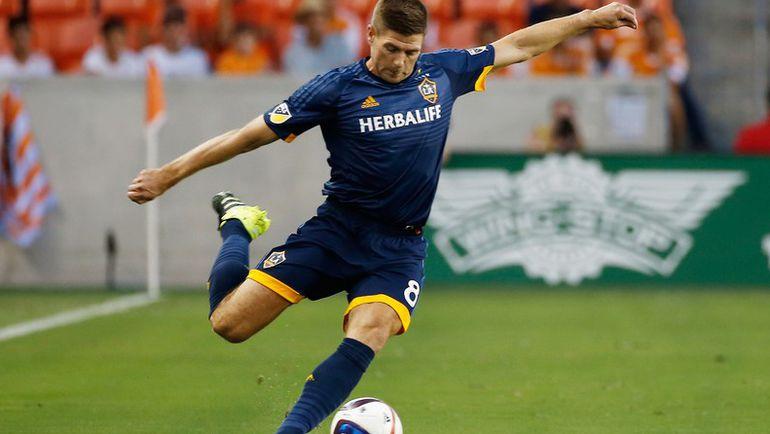 Стивен ДЖЕРРАРД осваивается в MLS. Фото AFP