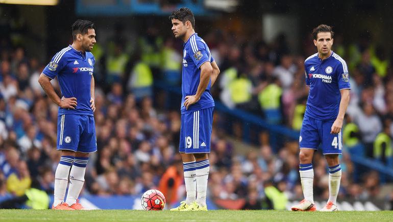 """В сезоне-2015/16 на счету """"Челси"""" только четыре очка. Фото REUTERS"""