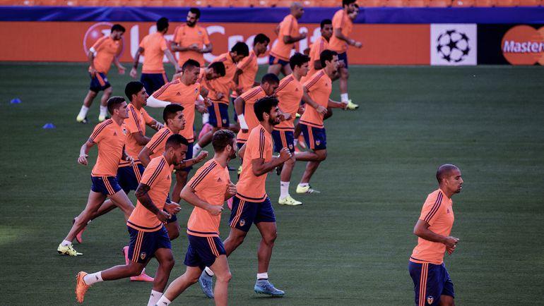 """Сегодня. Валенсия. Тренировка """"летучих мышей"""" перед матчем с """"Зенитом"""". Фото AFP"""