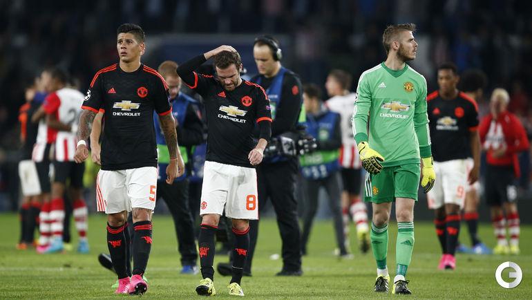 """ПСВ – """"Манчестер Юнайтед"""" – 2:1."""