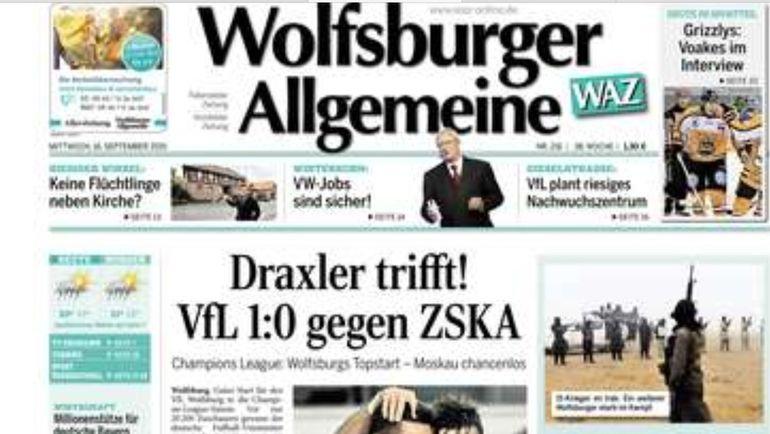 Wolfsburger Allgemeine.