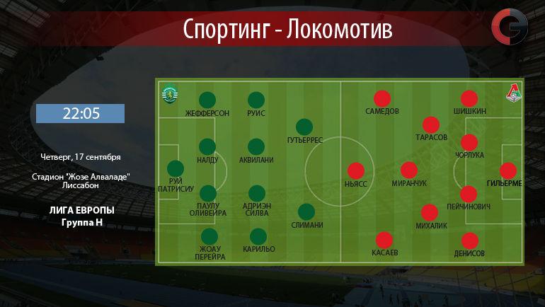 """""""Спортинг"""" vs """"Локомотив"""". Фото """"СЭ"""""""