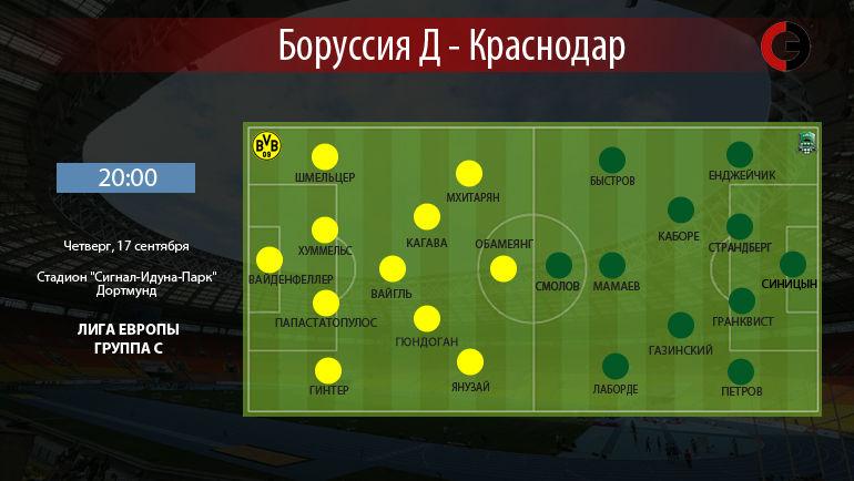 """""""Боруссия"""" Д vs """"Краснодар"""". Фото """"СЭ"""""""