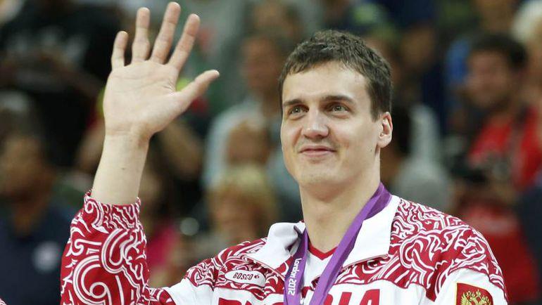 Александр КАУН с бронзовой медалью Олимпиады-2012 в Лондоне. Фото REUTERS
