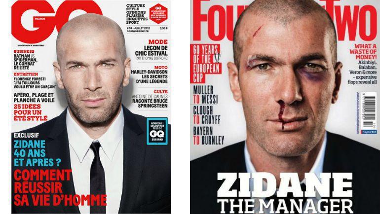 Зинедин ЗИДАН. Фото gqmagazine.fr/fourfourtwo.com