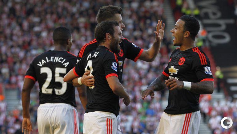 """""""Саутгемптон"""" – """"Манчестер Юнайтед"""" – 2:3."""