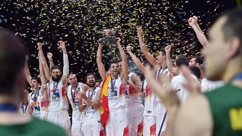 Воскресенье. Лилль. Испания - Литва - 80:63. Кубок - у Испании. Фото AFP