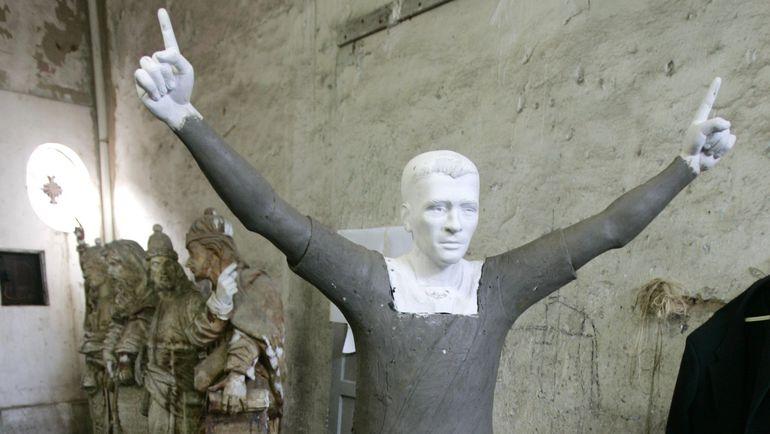 Памятник Ромарио. Фото REUTERS