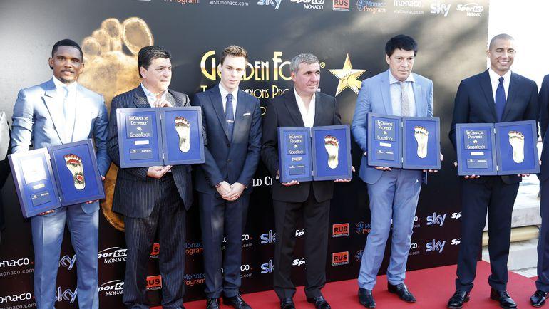 Лауреаты премии Golden Foot.