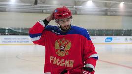 Сегодня. Новогорск. Вячеслав ВОЙНОВ на тренировке.