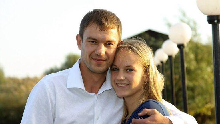 Александр КРЕСТИНИН и его дочка.