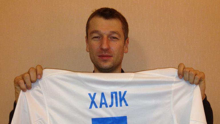 После матча в Саранске арбитр Алексей МАТЮНИН разжился футболкой Халка. Фото из архива Алексея Матюнина