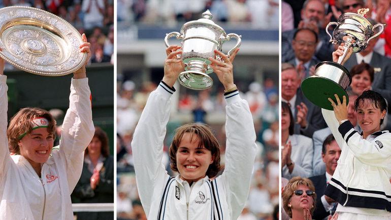 Мартина ХИНГИС - победительница Уимблдона-1997, открытого чемпионата США-1997, открытого чемпионата Австралии-1998. Фото AFP