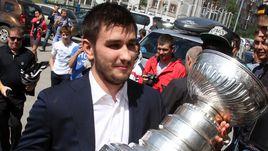 Летом-2014 Вячеслав ВОЙНОВ привозил в родной Челябинск Кубок Стэнли.