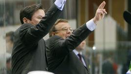 Игорь ЗАХАРКИН (справа) будет руководить