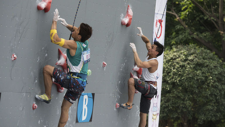 Кубок мира-2015 по скалолазанию в Цунцине (Китай). Фото IFSC