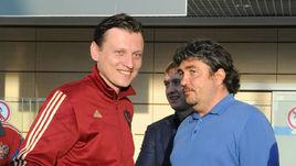Главный тренер юношеской сборной России Михаил ГАЛАКТИОНОВ (слева) и Николай ПИСАРЕВ.