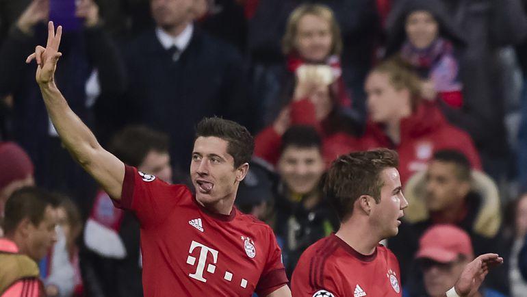Роберт ЛЕВАНДОВСКИ (слева) намерен забить в ворота своего бывшего клуба в матче 8-го тура бундеслиги. Фото AFP