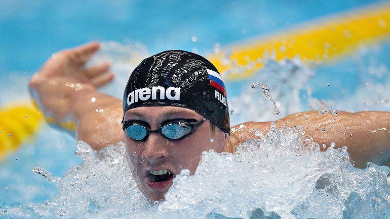 Николай СКВОРЦОВ на чемпионате Европы на короткой воде-2013 в Монреале. Фото AFP