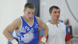 Денис АБЛЯЗИН и тренер Сергей СТАРКИН.