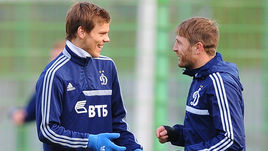 Октябрь 2013 года. Андрей ВОРОНИН (справа) и Александр КОКОРИН.
