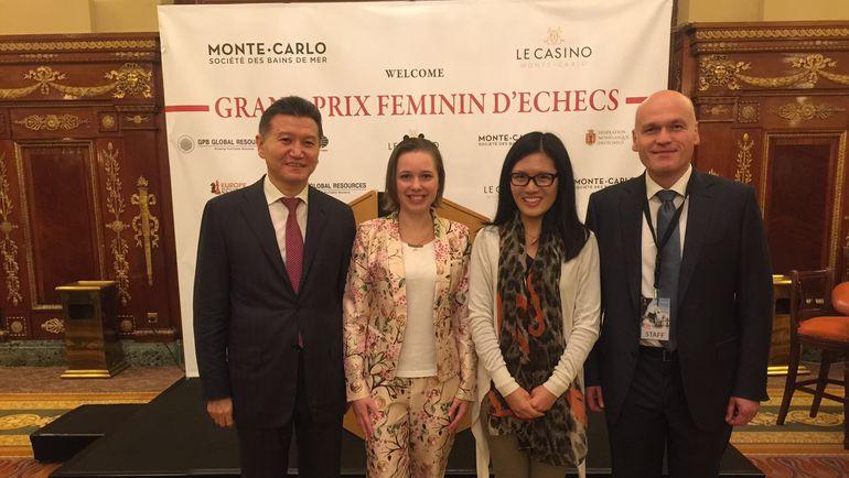 В Монте-Карло открылся первый этап женского Гран-при ФИДЕ. Фото ruchess.ru